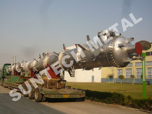 China Nickel Alloy C-59 Distillation Tower / Column for Butyl Alcohol supplier