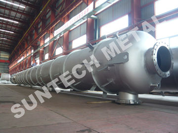 China Nickel Alloy N10276 Distillation Tower 32 tons Weight 100000L Volume supplier