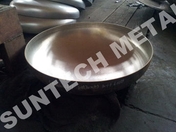 China Explosion Bonded 304 Austenitic Stainless Steel Elliptical Clad Head for Evaporator supplier
