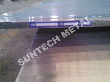 China 410S / 516 Gr.70 Martensitic clad steel plates for Columns supplier
