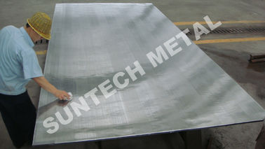 China Stainless Steel SA240 405 / SA516 Gr.60N Clad Plate for Oil Refinery supplier