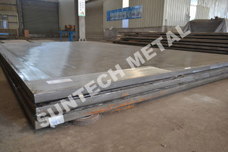 China Explosion Clad N02200 Ni200 Pure Nickel Cladded Plate for Condensers supplier