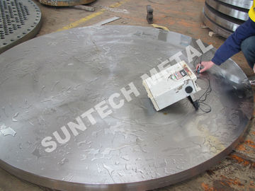 China N06600 Inconel 600 / SA266 Nickel Alloy Clad Plate Tubesheet for Condenser supplier