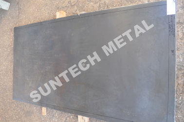 China E0050 Zirconium Tantalum Clad Plate for Chemical Process Equipment supplier