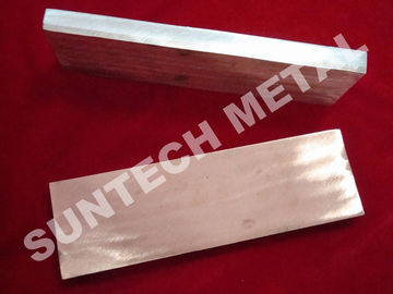 China Cu 1100 / A1050 Copper Clad Plate Applied for Transitional Joints supplier