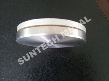 China Explosion Bonded Clad Plate C1100 / 304L Aluminum Copper Stainless Steel supplier