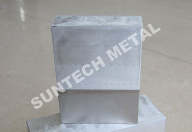 China Ni200 / B265 Gr.2 Multilayered Explosion Bonded Clad Plate 1sqm Max. Size supplier