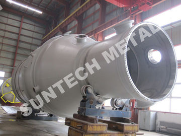 China 2200mm Diameter Shell Tube Condenser 18 tons Weight  for pharmacy / metallurgy supplier