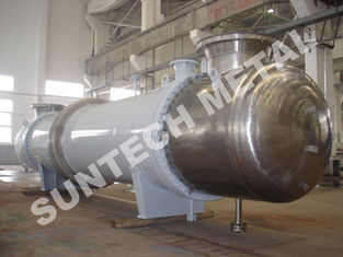 China Shell Tube Condenser for PTA , Chemical Process Equipment of Titanium Gr.2 Cooler supplier