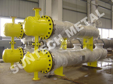 China Dying Chemicals Shell & Tube Condenser  ISO-9001 Certificate supplier