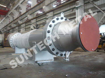 China Titanium Gr.2 Cooler / Shell Tube Condenser for Pure Terephthalic Acid supplier