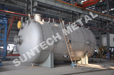 China MMA Reacting Stainless Steel Storage Tank  6000mm Length 10 Tons Weight supplier