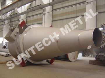 China Chemical Process Equipment Inconel 600 Cyclone Separator for Fluorine supplier