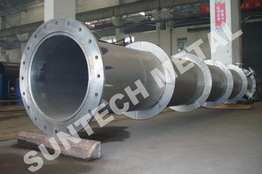 China Titanium Gr.2 Piping Chemical Process Equipment  for Paper and Pulping supplier