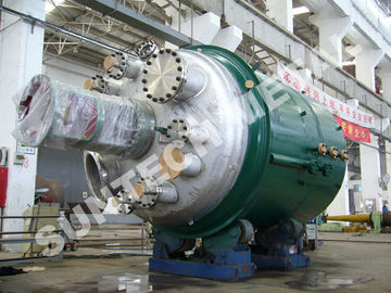 China 317L Main body & SA516 Jacket  Agitating Reactor for Dying Chemicals supplier