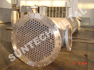 China Shell Tube Heat Exchanger Chemical Process Equipment 1.6MPa - 10Mpa supplier