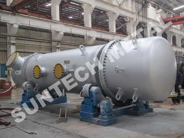 China Stainless Steel 316L Double Tube Sheet Heat Exchanger 25 Tons Weight supplier