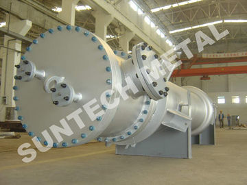 China C-276 Nickel Alloy Double Tube sheet Heat Exchanger , High Efficiency Heat Exchanger supplier