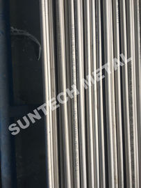 China Titanium Seamless Tubes For Shell and Tubular Heat Exchanger supplier