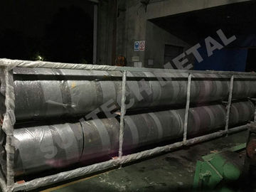 China Explosive Welding Nickle Alloy Bimetallic Clad Pipe For Chemical Process Equipment supplier