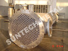 China Shell Tube Heat Exchanger Chemical Process Equipment 1.6MPa - 10Mpa factory