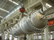 China 150 sqm Double Tube Shell And Tube Type Heat Exchanger7 Tons Weight factory