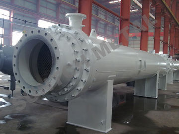 China Nickel Alloy C71500 Clad Shell Tube Heat Exchanger for Gas Industry distributor