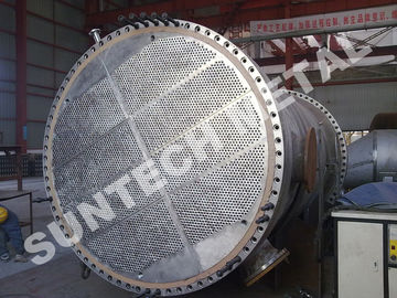 China Duplex Steel 2205 Shell Tube Heat Exchanger , Tubular Heat exchanger for MDI distributor