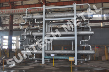 China High Efficiency Heat Exchanger 6 Bundle Connection 10MPa - 100MPa distributor