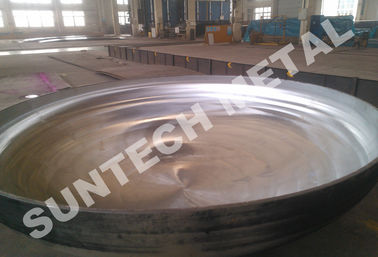China 410S Martensitic Stainless Steel Pressure Vessel Clad Head for Distillation Tower distributor
