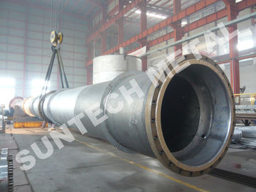 China Zirconium 702 Tray Type  Column / Distillation Tower for Acetic Acid distributor