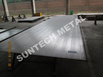China SB265 Gr.2 Titanium Clad Plate for Flue Gas Desulfurization FGD factory