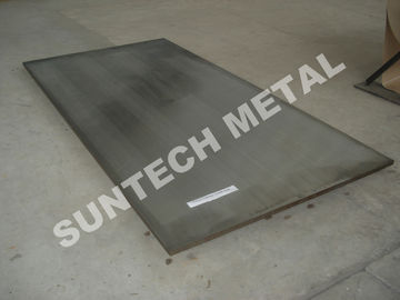 China Martensitic Stainless Steel Clad Plate SA240 410 / 516 Gr.60 for Seperator distributor