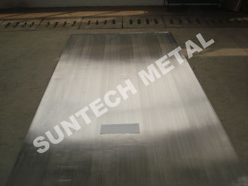 China Nickel Alloy Clad Plate for Heaters Explosion Clad N04400 Monel400 distributor