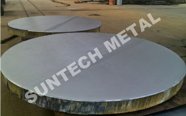 China SB265 Gr.2 / SA266 Zirconium Tantalum Clad Plate for 1-Naphthol and 1-Naphthylamine distributor