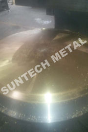 China 120mm thickness Copper Clad Plate / Tubesheet  for Heat Exchangers factory