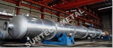 China Nickel Alloy B-3 Phosgen Removal Distillation Tower 18 tons Weight factory