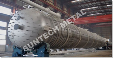 China Distillation Tower  254SMO Material Column Tray Type  for MDI factory