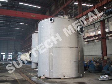 China Titanium Gr.2 Chemical Storage Tank  for Paper and Pulping factory