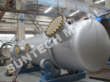 China 316L Double Tube Sheet Heat Exchanger for Chemical Processing Plant distributor