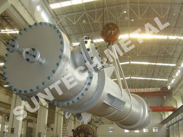 China C-22 Nickel Alloy Double Tubesheet Heat Exchanger for Dioxide Titanium Processing distributor