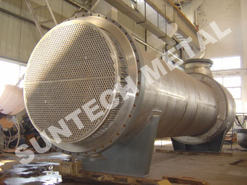 China Floating Head Exchanger Condenser , Heat Exchangers In Industry distributor
