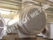 Zirconium 60702 Floating Type Heat Exchanger , Floating Head Cooler