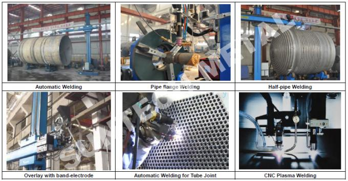 Nickel Alloy C-59 Distillation Tower / Column for Butyl Alcohol