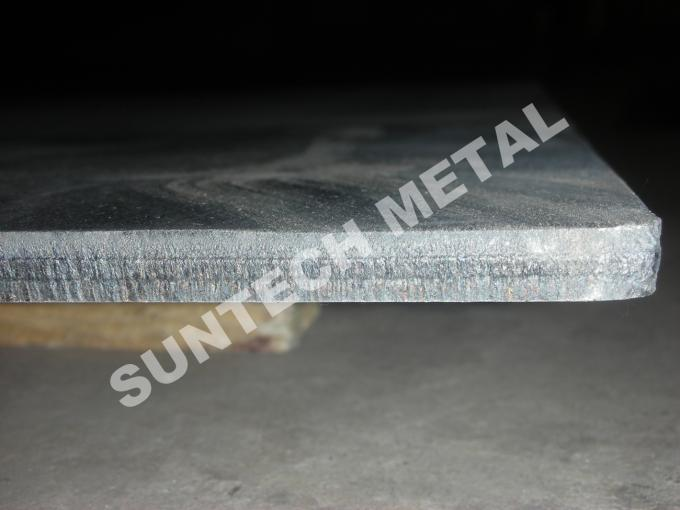 Copper and Stainless Steel Explosion Bonded Clad Plate C1020 Multilayer