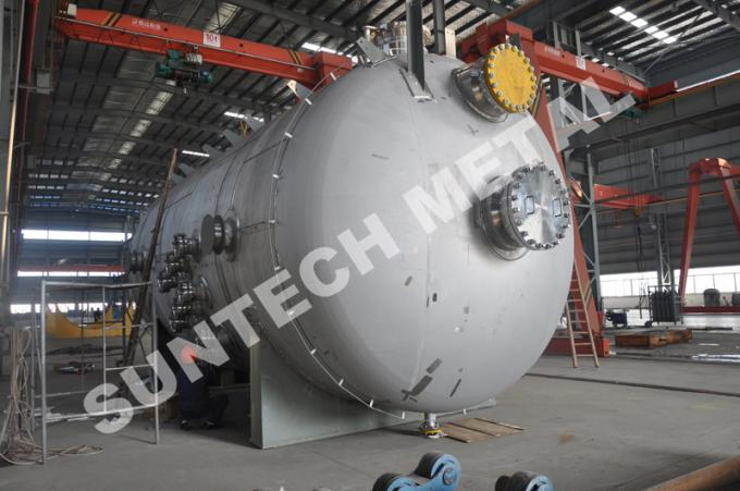 MMA Reacting Stainless Steel Storage Tank  6000mm Length 10 Tons Weight