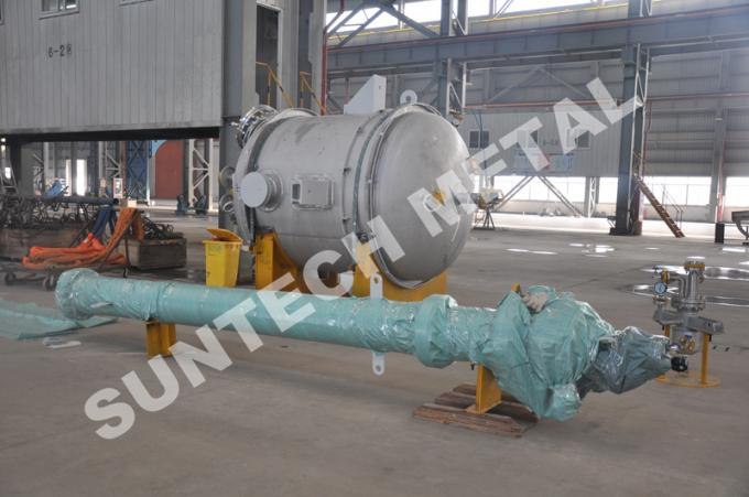 2000mm Length Chemical Storage Tank , 316L Stainless Steel Chemical Tanks