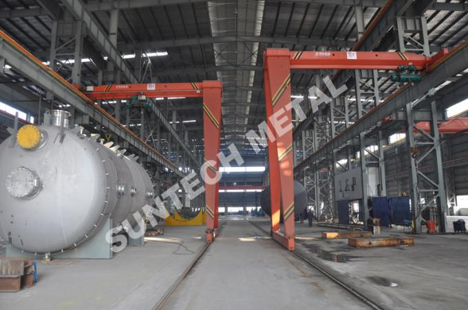 Chemical Processing Equipment Alloy C-22 Tubular Reactor for Food
