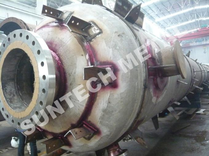 Chemical Process Equipment Nickel Alloy B-3 Phosgen Removal Tray Type Column for Acetic Anhydrer